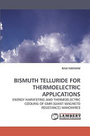 Image of Bismuth Telluride for Thermoelectric Applications