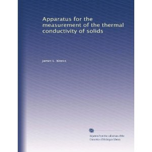 Image of Apparatus the Measurement of Thermal Conductivity of Solids