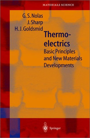 Image of Principles of Thermoelectrics